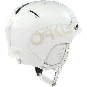 Oakley MOD5 Factory Pilot Casco para la nieve, matte white